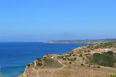 Boca do Rio cliff top jogging tracks