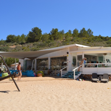 Cabanas Velhas beach restaurant