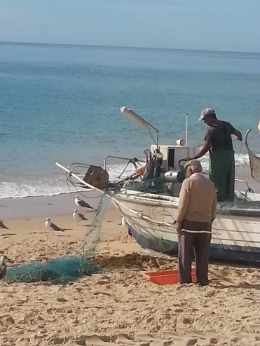 Fishermen in Salema